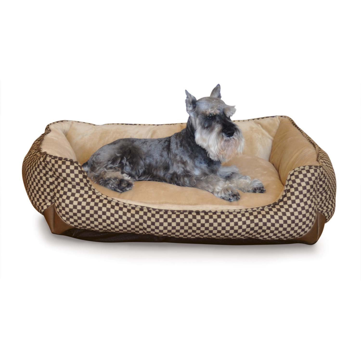 K & H Lounge Sleeper Self Warming Pet Bed