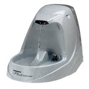 Drinkwell Pet Fountain Platinum