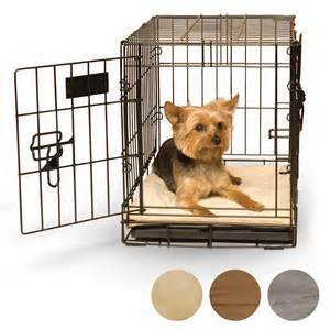 K H Self-Warming Crate Pad Dog In Crate