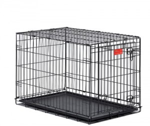 Midwest Life Stages Double Door Dog Crate Shown
