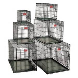 Midwest Life Stages Double Door Dog Crates All Six Sizes Stacked