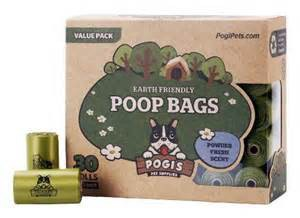 Pogi's Earth Friendly Poop Bags Box Two Rolls Displayed