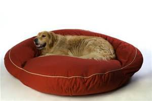 Large Bolster Dog Bed