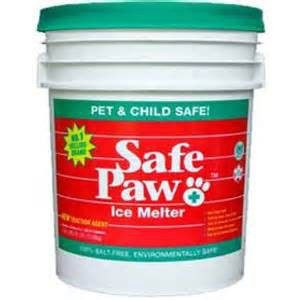 Safe Paw Ice Melter Pail Bucket 35 LBS