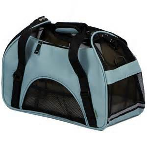 Bergan Comfort Soft Sided Pet Carrier Mineral Blue