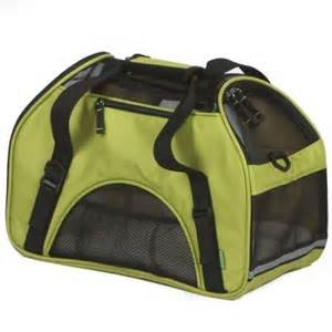 Bergan Comfort Soft Sided Pet Carrier Spinach Green