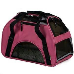 Bergan Comfort Soft Sided Pet Carrier Wine Rose