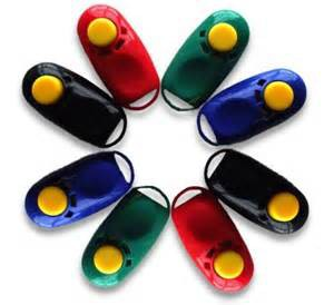 Karen Pryor Clickers Various Colors