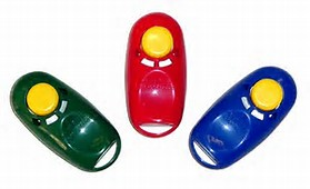 Karen Pryor Dog Training Clickers 3-Pack