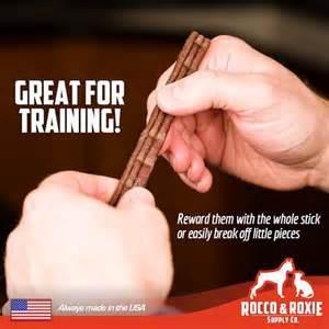 Rocco Roxie Jerky Dog Treats Great For Training