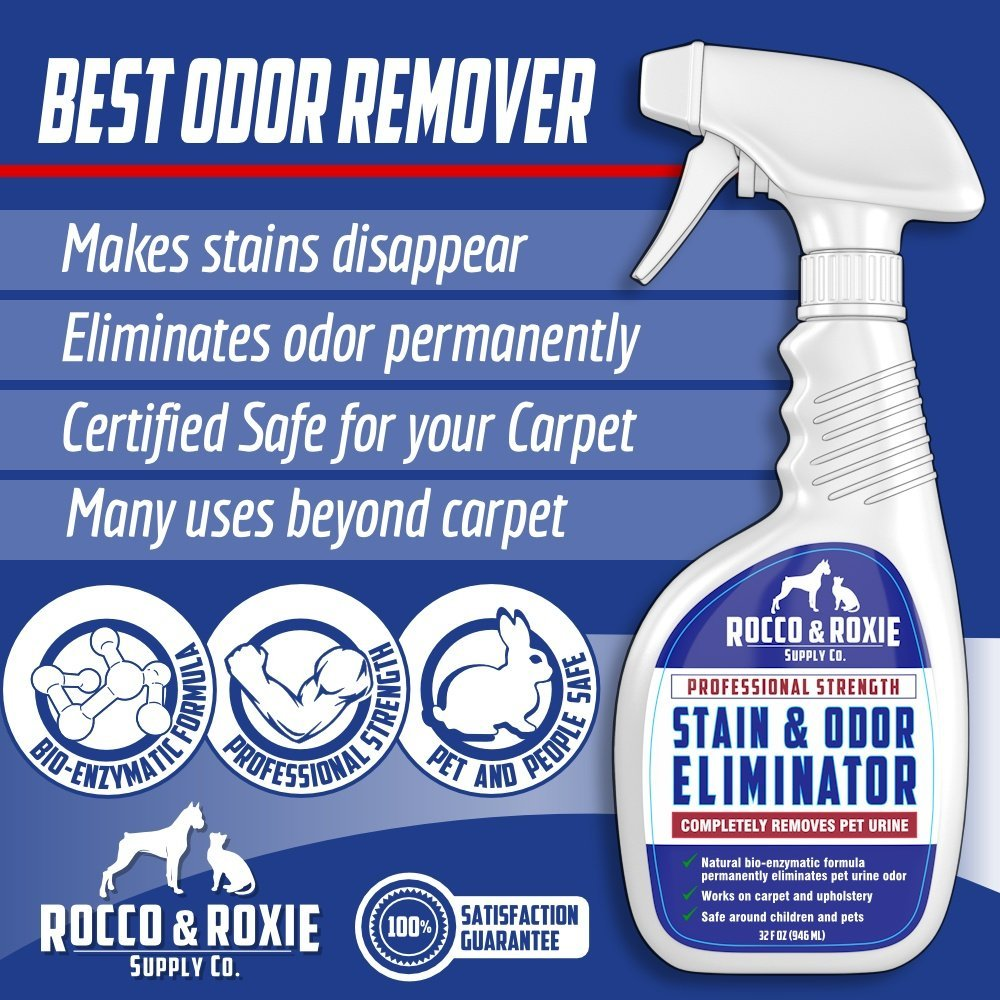Rocco And Roxie Stain And Odor Eliminator Dog