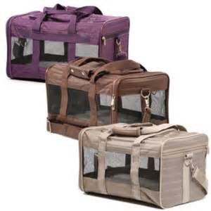 Sherpa Pet Carriers Three Colors Plum-Brown-Gray