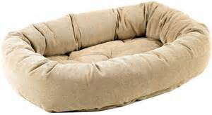 Large Dog Bed With Back Support