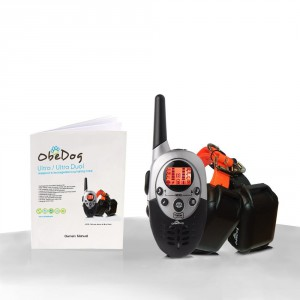 ObeDog 1100 Yards ultra Dual Rechargeable Dog Training Collar and Training Manual