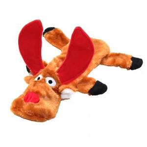 Reindeer Squeaky Dog Toy