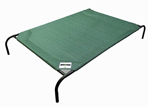 Coolaroo Elevated Pet Bed Brunswick Green Large