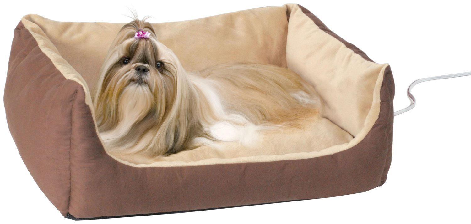 K&H Manufacturing Thermo Pet Cuddle Heated Bed