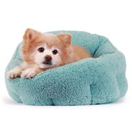 OrthoComfort Deep Dish Cuddler Pet Bed, Color Teal