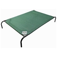 The Original Elevated Pet Bed By Coolaroo - Large Brunswick Green