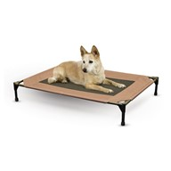 K&H Manufacturing Original Pet Cot ,Large ,30-Inch by 42-Inch,Chocolate/Mesh