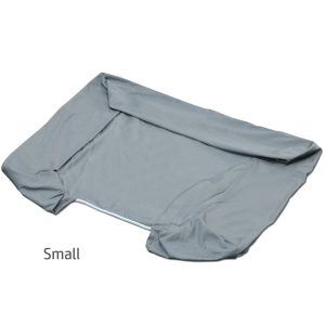 PetFusion Replacement Cover for Ultimate Dog Lounge (Small, Slate Gray)