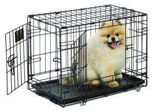MidWest Life Stages Heavy Duty Folding Crate Small