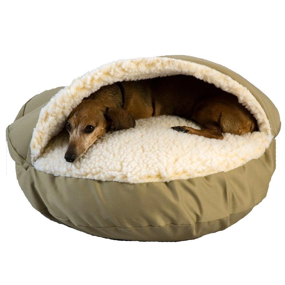 Snoozer Cozy Cove Dog Bed Khaki
