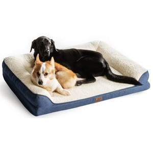 Bedsure Orthopedic Bolster Dog Bed