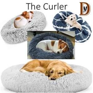 Dog Sleeping Style The Curler