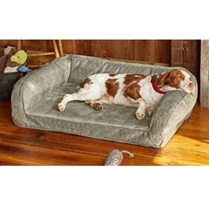Orvis Toughchew Couch Large Dog Bed With Headrest
