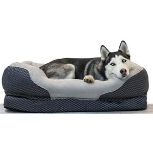 BarksBar Orthopedic Bolster Dog Bed
