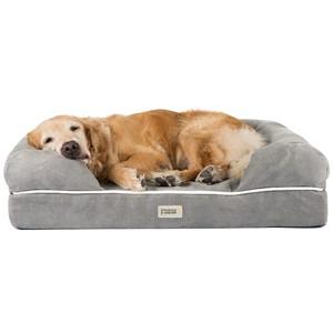 Friends Forever Orthopedic Bolster Dog Bed