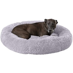 GM Pet Supplies Orthopedic Dog Bed With Headrest