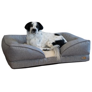 K&H Pet Products Lounger Orthopedic Bolster Dog Bed