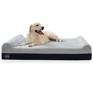 Laifug Orthopedic Bolster Headrest Dog Bed