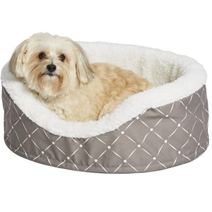 Midwest Homes Orthopedic Bolster Dog Bed