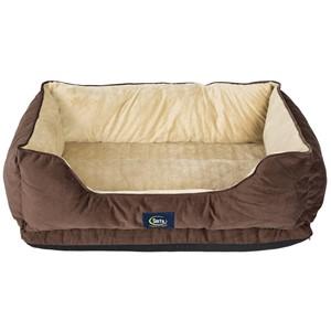 Serta Orthopedic Bolster Dog Bed