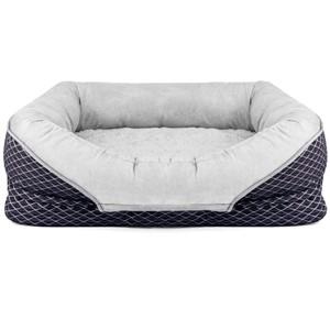 AsFrost Bolster Dog Bed Medium Dogs
