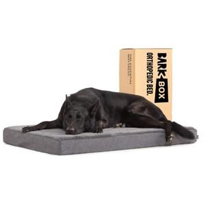 BarkBox Rectangular Orthopedic Dog Bed