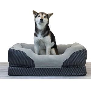 BarksBar Bolster Dog Bed Medium Dogs