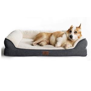 Bedsure Bolster Dog Bed Medium Dogs