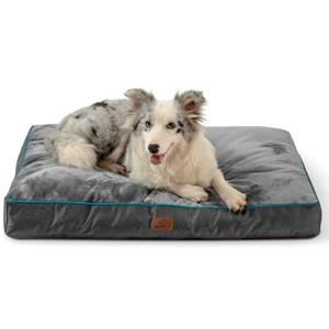 Bedsure Rectangular Orthopedic Pillow Dog Bed
