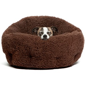 Best Friends By Sheri Deep Dish Cuddler Dog Bed Small Dogs