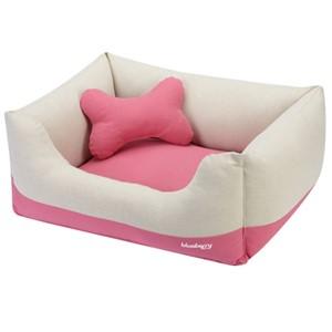 Blueberry Bolster Dog Bed Medium Dogs