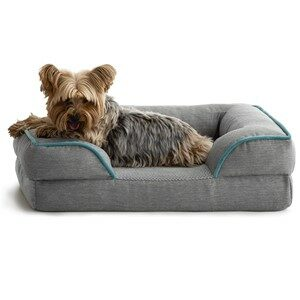 Brindle Bolster Orthopedic Dog Bed Small Dogs