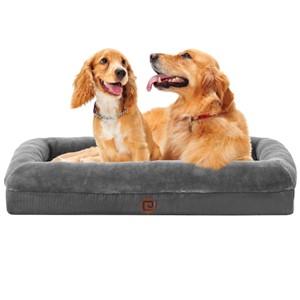 EHEYCIGA Bolster Dog Bed Medium Dogs
