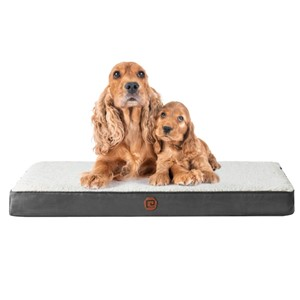 EHEYCIGA Rectangular Dog Bed Medium Dogs
