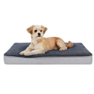 Focuspet Rectangular Orthopedic Dog Bed Small Dogs