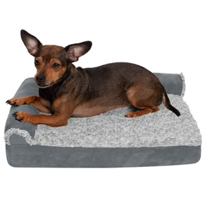 Furhaven Pet Bolster Orthopedic Dog Bed Small Dogs