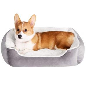 JMHUND Bolster Dog Bed Medium Dogs